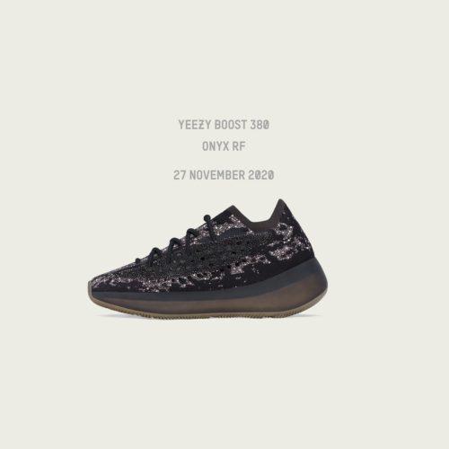 11月27/28日 発売予定 YEEZY BOOST 380 ONYX (H02536,FZ1270)