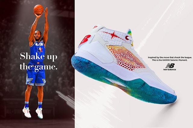 カワイ・レナードシグネチャーバスケットボールシューズと327のニューカラーが11月12日発売予定
