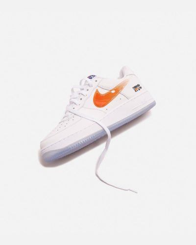 12月18日 発売予定 KITH X NIKE AIR FORCE 1 KNICKS (CZ7928-100)