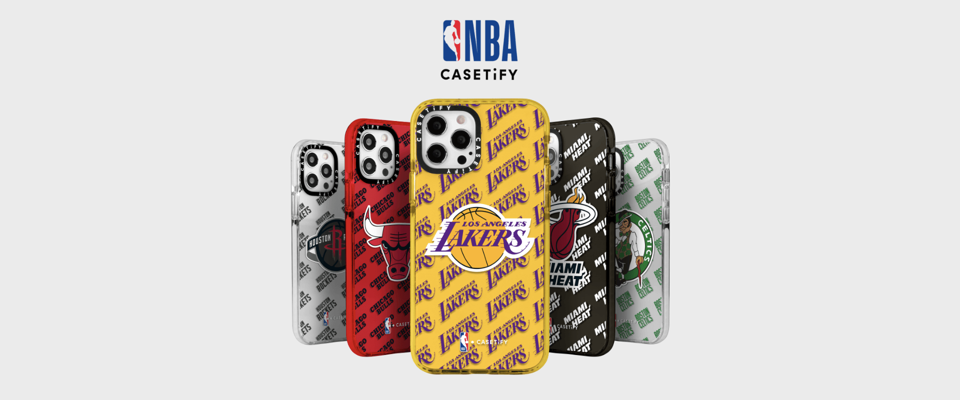 4月30日 発売予定 NBA x CASETiFY チーム エディション