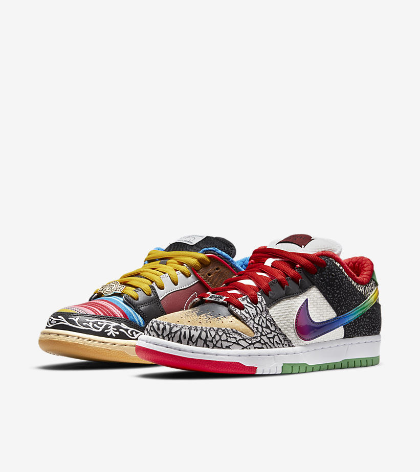 NIKE SB ダンク LOW What The Paul CZ2239-600