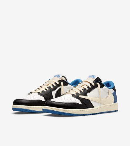【Nike SNKRS】エア ジョーダン 1 LOW トラヴィス・スコット X フラグメント