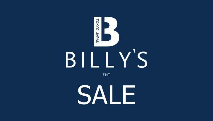 BILLY'S ONLINE SALE